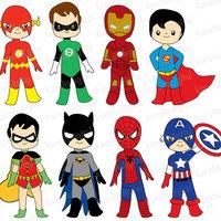 Third Grade Super Heroes Unite!