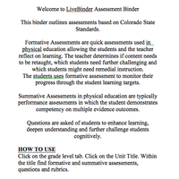 Assessments Based On CDE Sample Curriculum Units