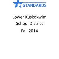 Lower Kuskokwim School District Fall 2014