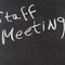 Staff Meeting, 9/16/14