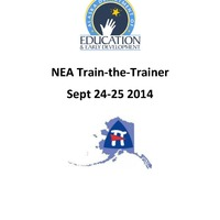 2014 NEA Train the Trainers (9/24-9/25)