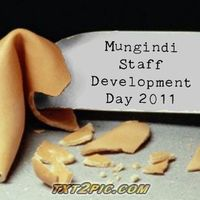 Mungindi Staff Development Day: Term 3 July 2011