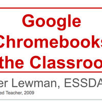 This is a collection of some really great resources for those who are new or new-ish to using Chromebooks, or who are considering adding this awesome tool to their collection of hardware options.
