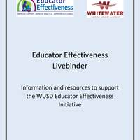 Whitewater School District Educator Effectiveness Resources