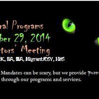 Federal Programs Directors October 2014