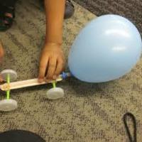 Creating a Balloon Car - Worthylake