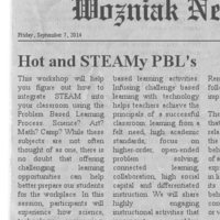 Full STEAM Ahead:  Hot & STEAMy Resources